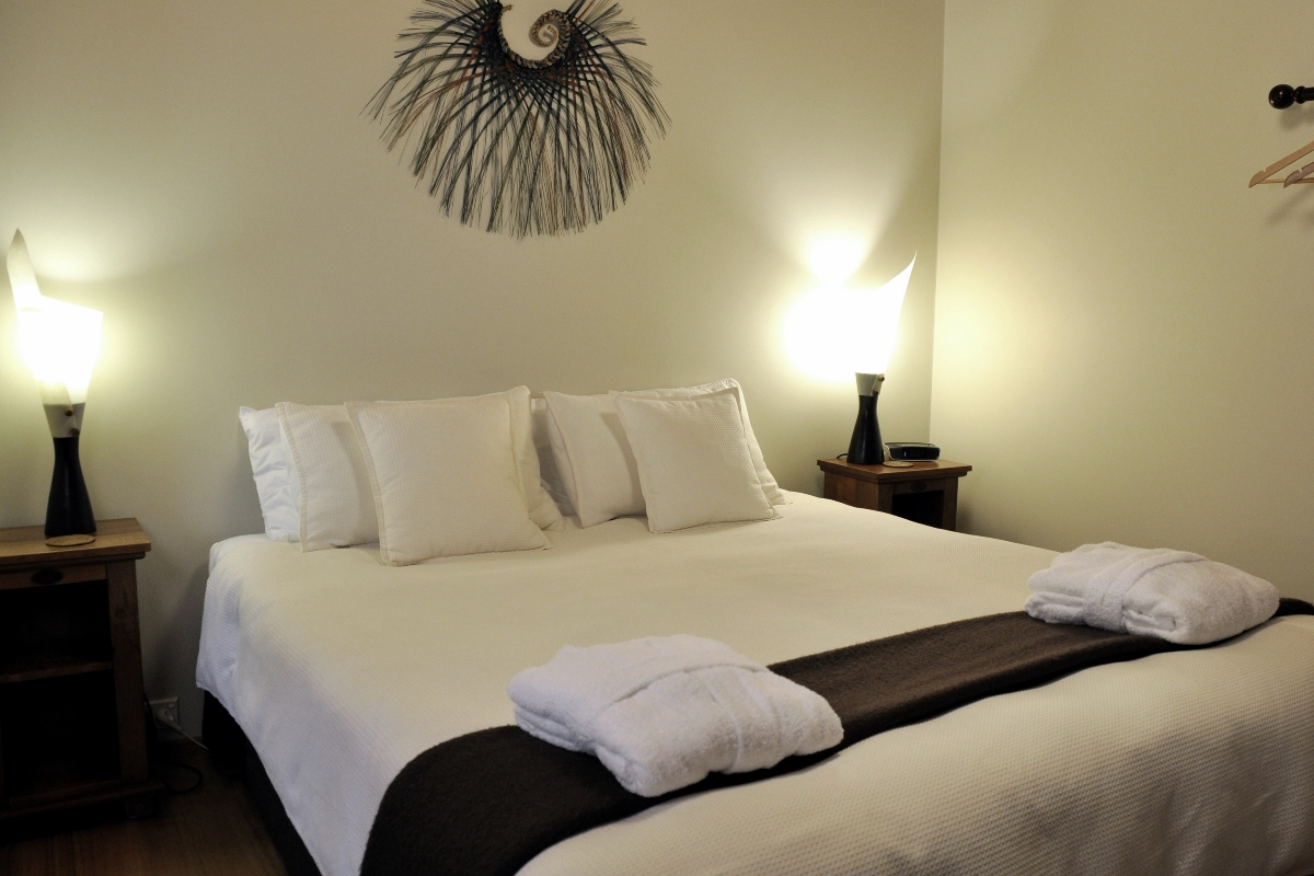 Cottage Bedroom | Adrift in Golden Bay