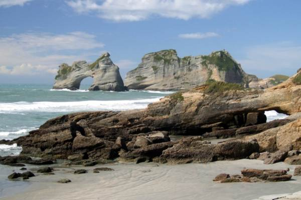 Archway Islands, Wharariki Beach, Golden Bay